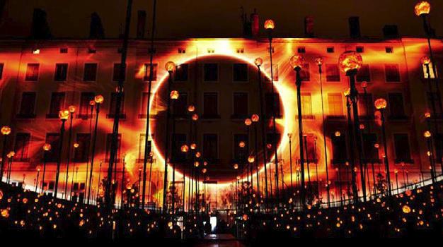 La Fête Des Lumières De Lyon- Édition 2015