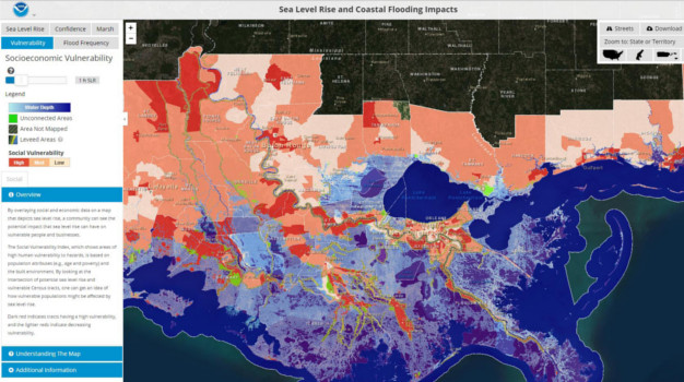 MAPPING COASTAL FLOOD RISK