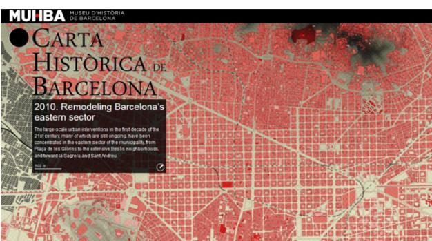 Carta Historica Barcelona