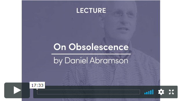 On Obsolescence: Value And Utility Of The Built Environment